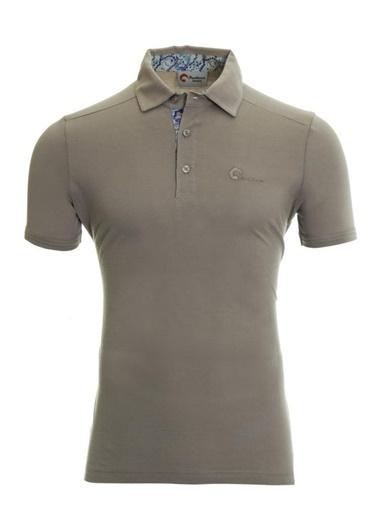 Panthzer  Toluca Erkek  Polo T-Shirt Gri